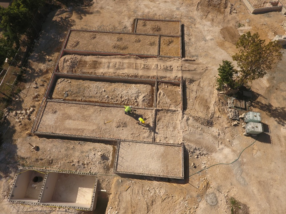 Jan 2020: Footings Poured & Foundation in Progress (2 of 4)