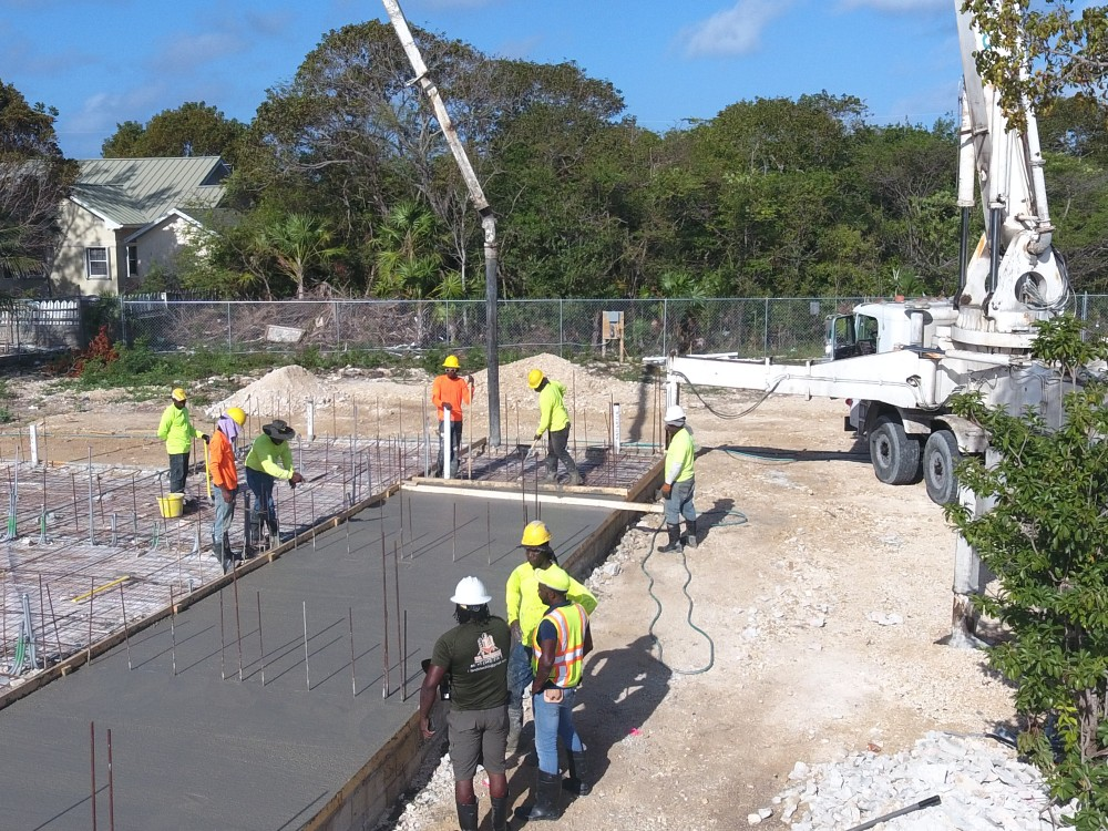National Concrete is Back! Pouring the foundation for Phase 1.